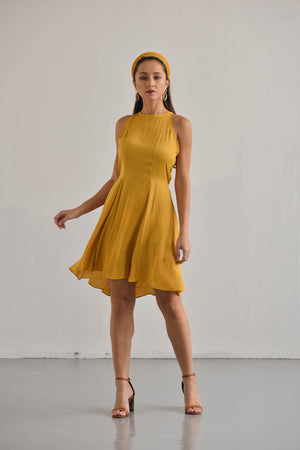 MINI HALTER DRESS TAYLOR