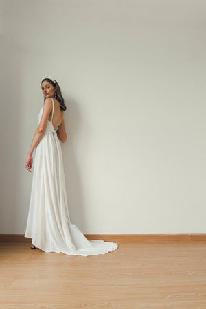 SIERRA WEDDING SLIP DRESS
