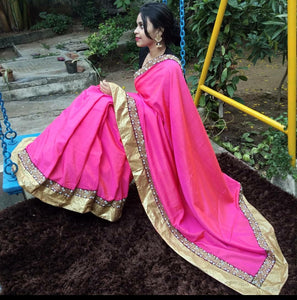 Blended soft silk saree