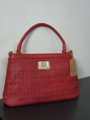 Deep Red Hand Bag