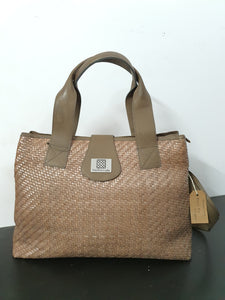 Brown Big Shopper Bag