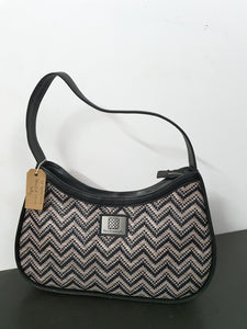 Black & White kelly Bag