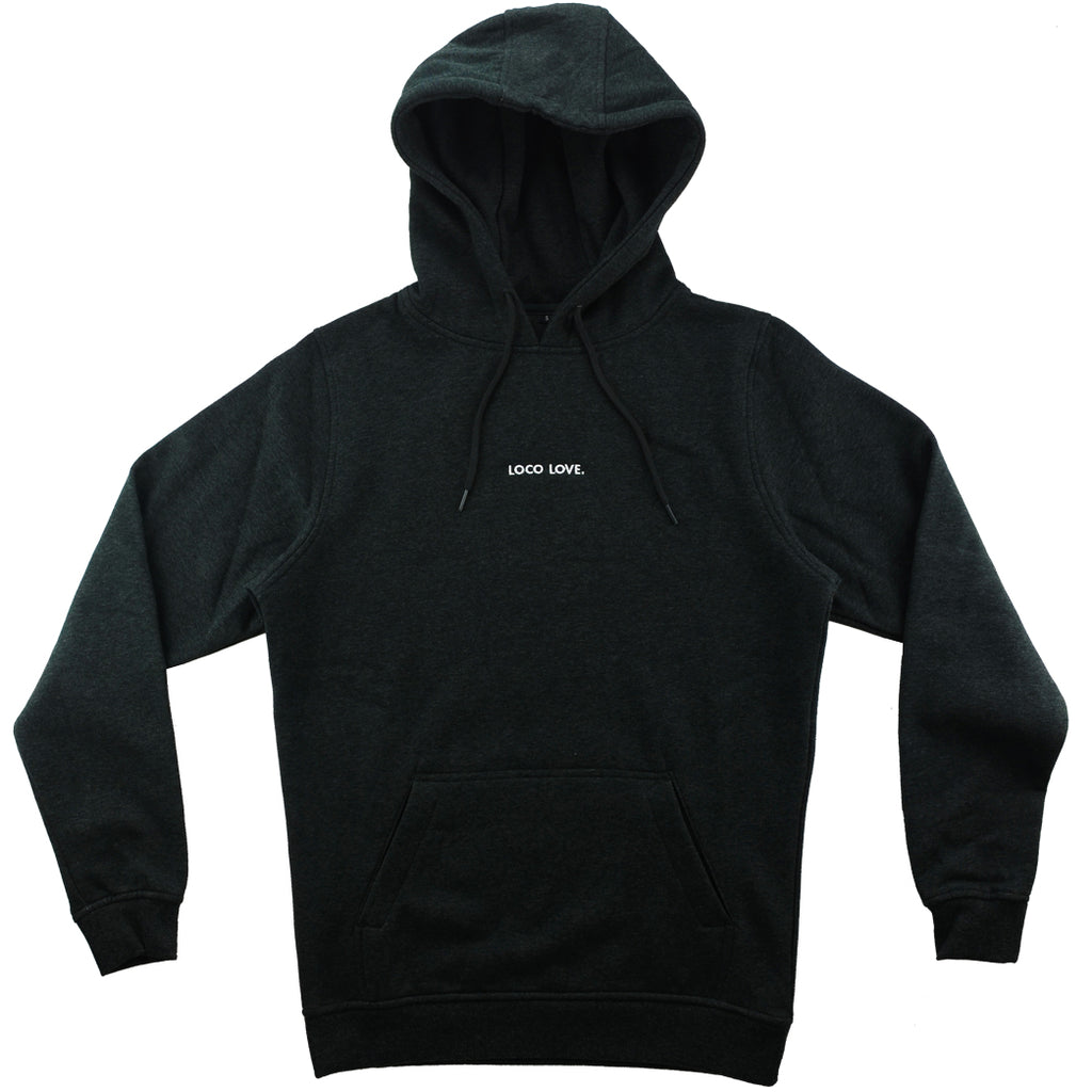 America is Loco charcoal hoody