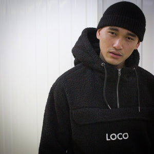 Loco Hooded Teddy Fleece
