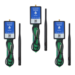 Smart Soil Temperature & Moisture Monitoring Outdoor Kit - Skysens