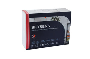 Smart Temperature and Humidity Monitoring Indoor Kit - Skysens