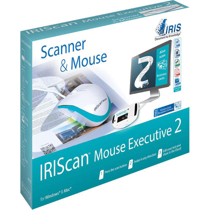 IRIScan Mouse Executive 2 Portable Scanner