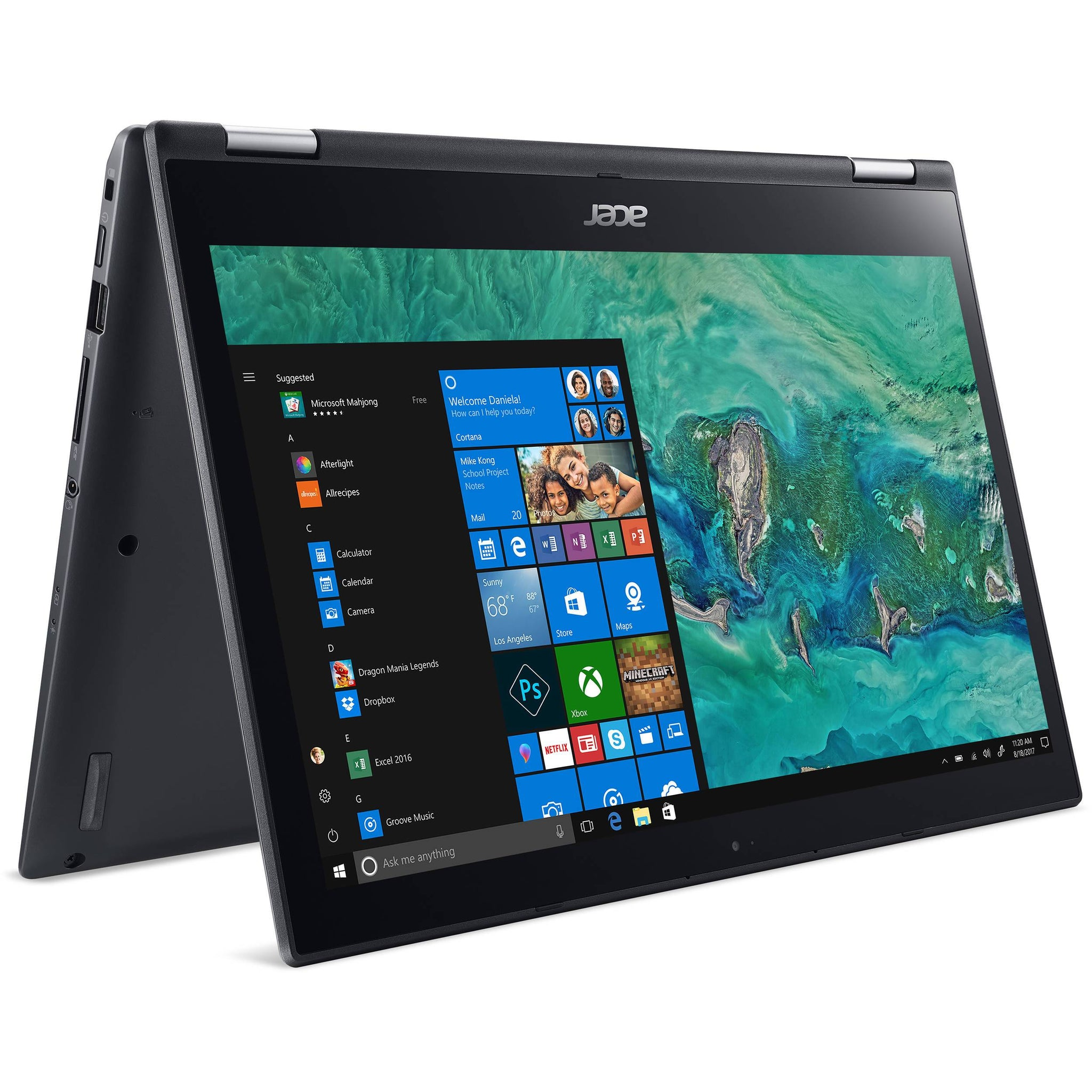 "Acer 14"" Spin 3 Multi-Touch 2-in-1 Laptop 