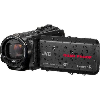 JVC GZ-RX-640BE Quad-Proof HD Camcorder with 40x Optical Zoom (PAL) - Buyerbabu