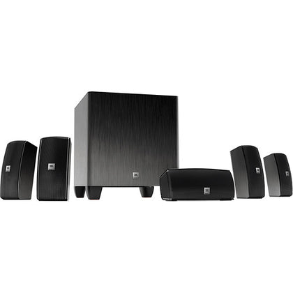 JBL Cinema 610 5.1-Channel Home Theater Speaker System