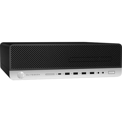HP EliteDesk 800 G4 Small Form Factor Desktop Computer | Intel Core i7 | 16GB DDR4 RAM | 512GB NVMe PCIe M.2 SSD
