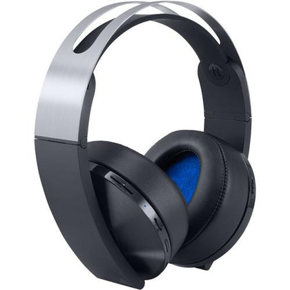 Sony PlayStation 4 Platinum Wireless Headset (Black & Silver) - Buyerbabu