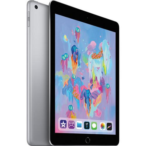 "Apple 9.7"" iPad (Early 2018, 128GB, Wi-Fi Only, Space Gray )"
