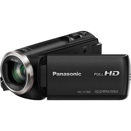 Panasonic HC-V180K Full HD Camcorder (Black) - Buyerbabu