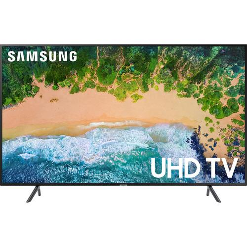"Samsung NU7100 Series 50""-Class HDR UHD Smart LED TV"