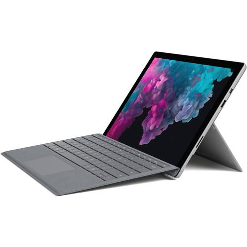 "Microsoft 12.3"" Multi-Touch Surface Pro 6 & Surface Pro Signature Type Cover Bundle (Platinum)"