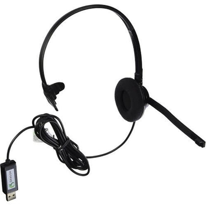 Nuance HS-GEN-C Stereo Headset with Dragon USB Adapter - Buyerbabu