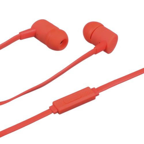Maxell Solid 2 Earphones with Microphone (Red)