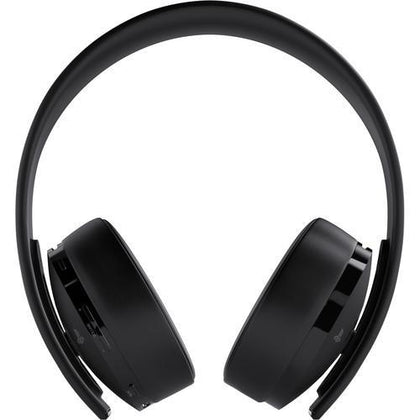 Sony PlayStation Gold Wireless Headset (Black) - Buyerbabu