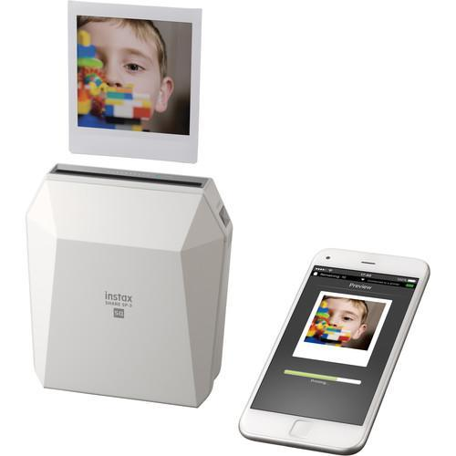 FUJIFILM INSTAX SHARE SP-3 Smartphone Printer (White)