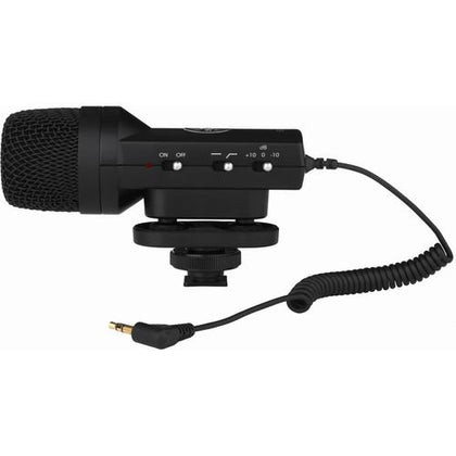 Senal SCS-98 DSLR/Video Stereo Microphone & Custom Windbuster Kit - Buyerbabu