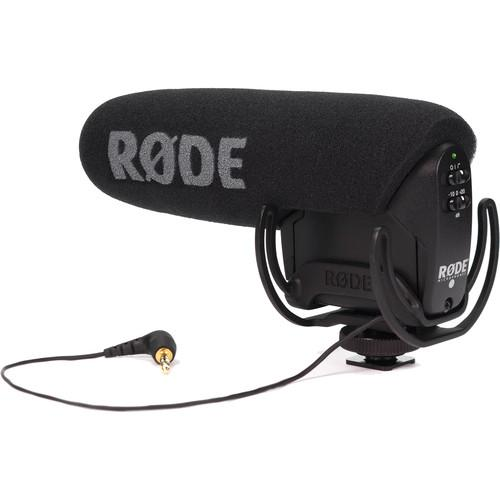 Rode VideoMic Pro with Lyre Suspension Mount & Dead-Cat Windshield Kit