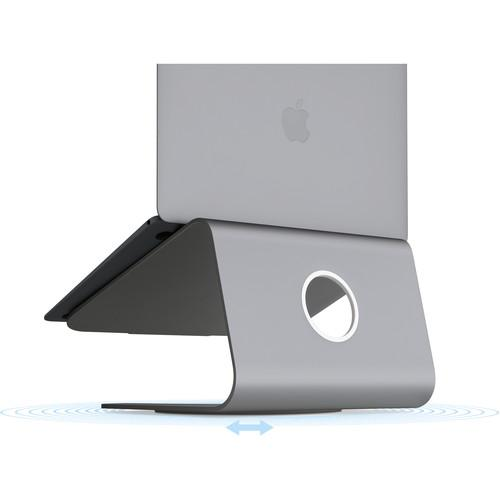Rain Design mStand360 Laptop Stand with 360° Swivel Base (Space Gray)