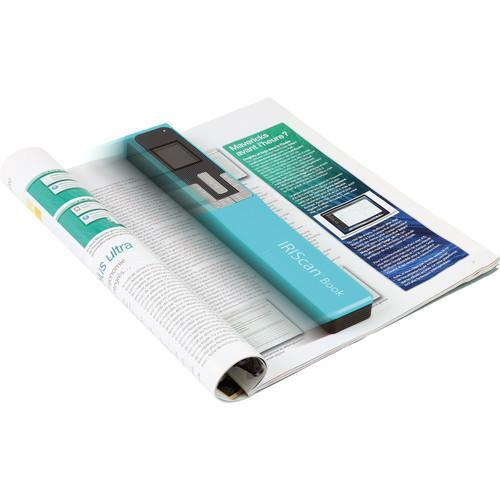 IRIS IRIScan Book 5 Portable Scanner (Turquoise)