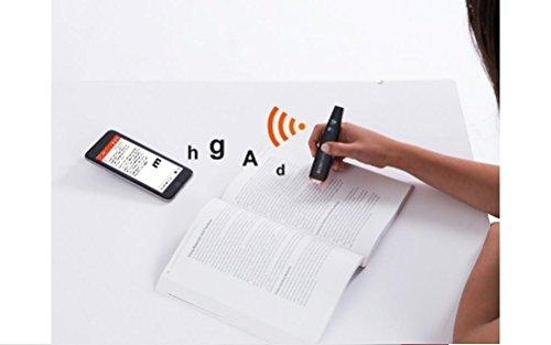 Scanmarker Air Pen Scanner - OCR Digital Highlighter and Reader - Wireless (Mac Win iOS Android)