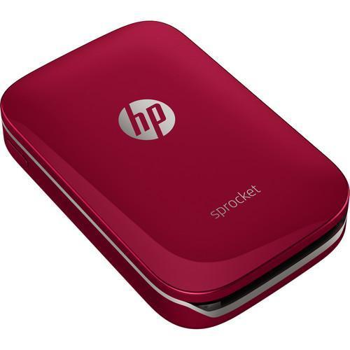 HP Sprocket Photo Printer (Red)