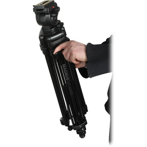 Magnus VT-4000 Tripod System with Fluid Head