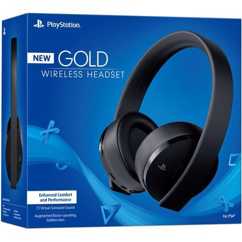 Sony PlayStation Gold Wireless Headset (Black)