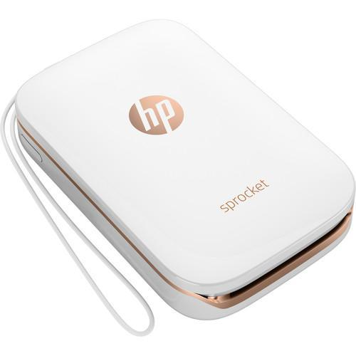 HP Sprocket Photo Printer (White)