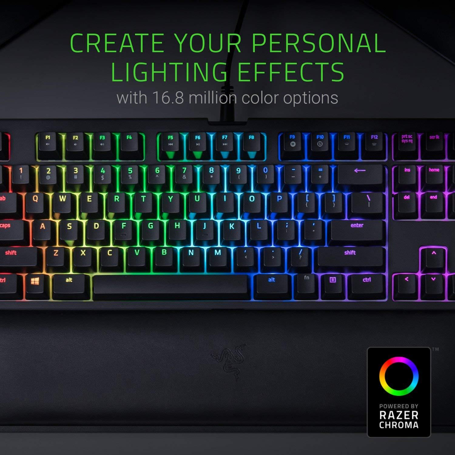 Razer BlackWidow Tournament Edition Chroma V2: Esports Gaming Keyboard