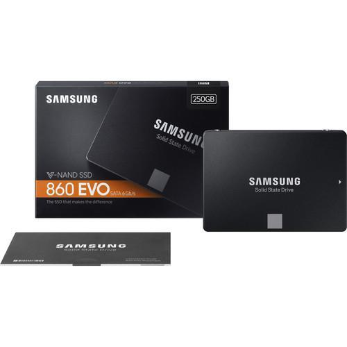 "Samsung 250GB 860 EVO SATA III 2.5"" Internal SSD"