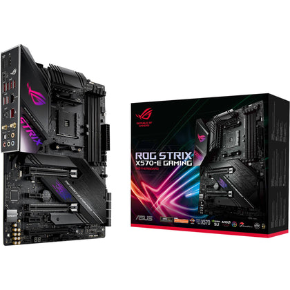 ASUS Republic of Gamers Strix X570-E Gaming AM4 ATX Motherboard