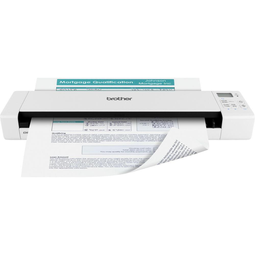 Brother DS-920DW Duplex Wireless Mobile Document Scanner