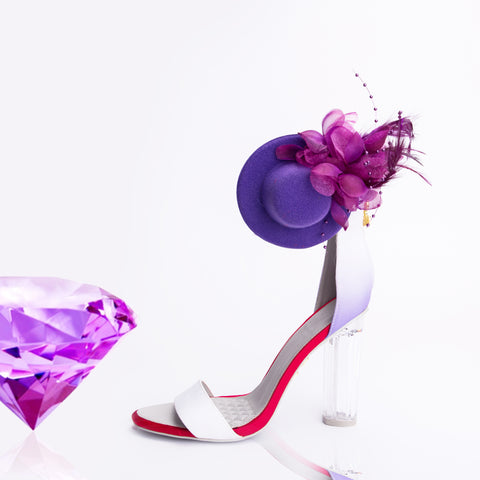 Randivie Down Town Purple Heels