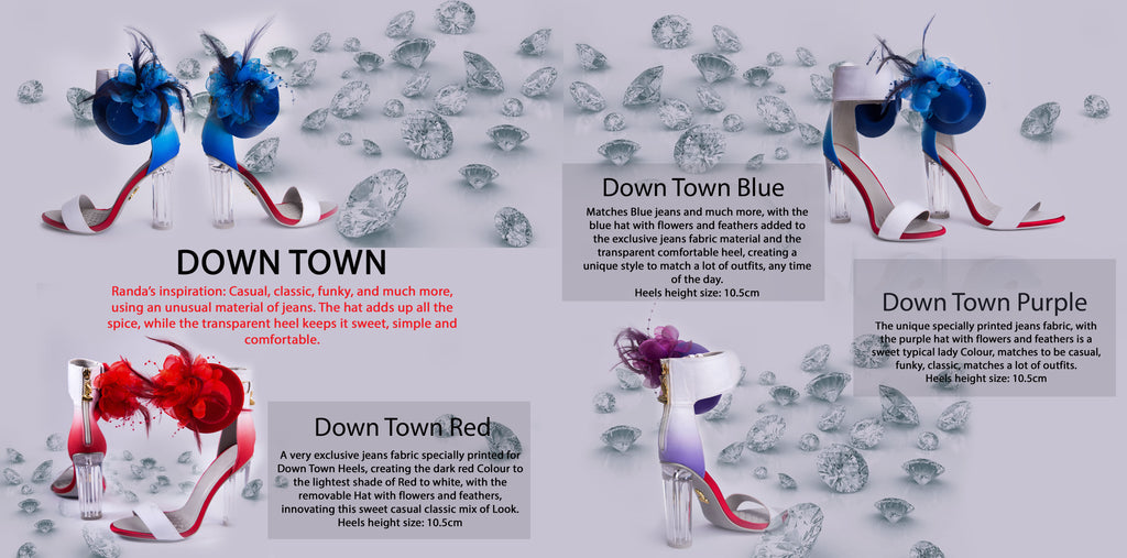 Randivie Look Book Down Town Heels High Fashion Shoes
