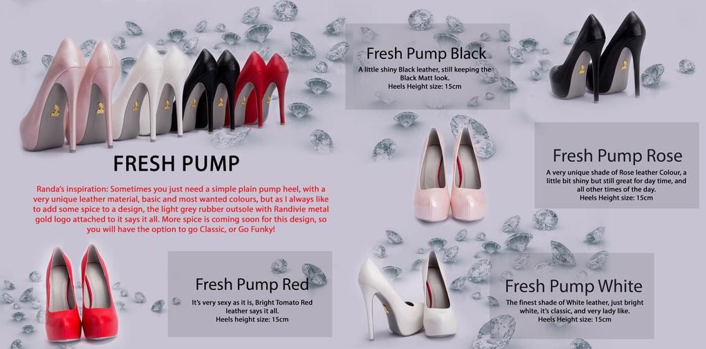 Randivie Look Book Fresh Pump Heels High Fashion Shoes