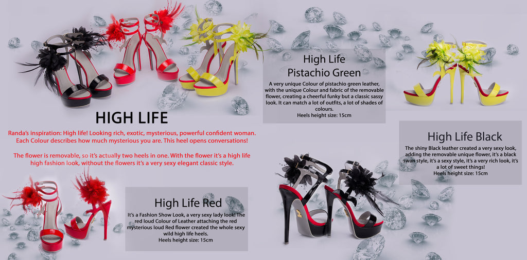 Randivie Look Book High Life Heels High Fashion Shoes
