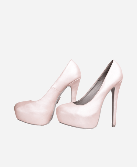 Fresh Pump Rose Heels