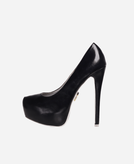Fresh Pump Black Heels