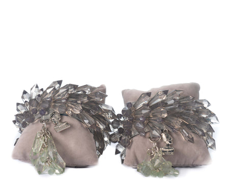 Extra Spike Anklets - Dark Grey