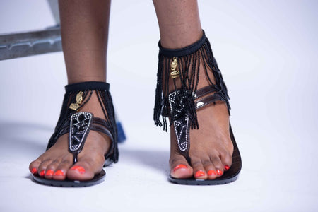Shake It Anklets - Black
