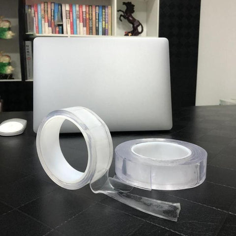 multifunctional transparent residue free Gel Magic Super Adhesive Tape Roll