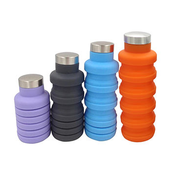 Image of Collapsible Silicone Water Bottle