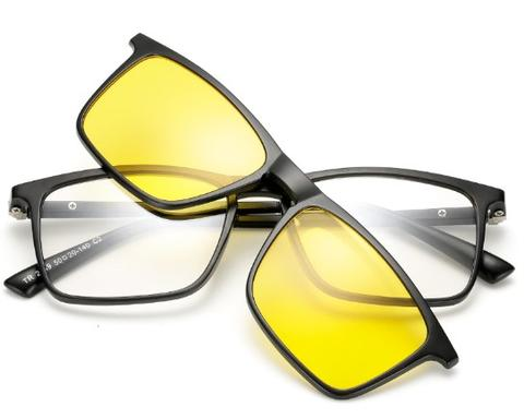 Image of 5 in 1 swappable lens sunglasses