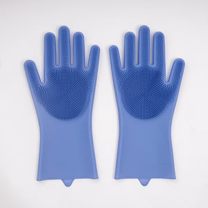 Magic Silicone Heat Resist Cleaning Gloves