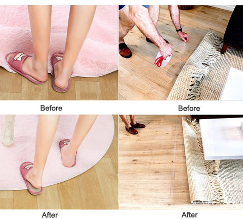 Image of multifunctional transparent residue free Gel Magic Super Adhesive Tape Roll